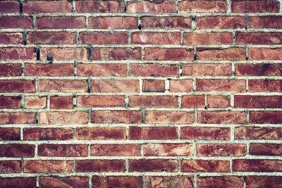 Obraz Zbliżenie na Stary mur z cegieł