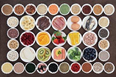 Obraz Zdraví a posilování Dietní strava