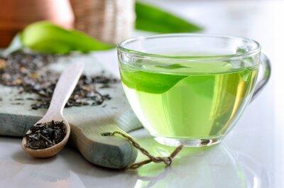 Obraz Zelený čaj lázně