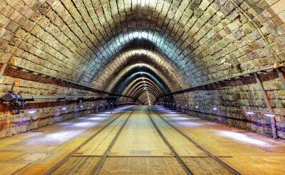 Obraz Železniční tunel