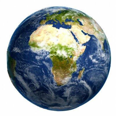 Obraz Země zeměkoule mapa