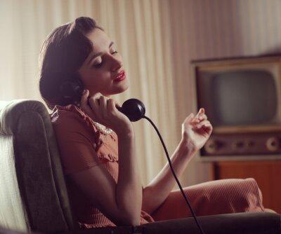 Obraz Žena na telefonu