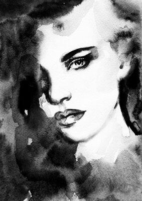 Obraz Žena tvář.