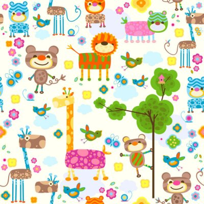 Obraz živočichů pozadí