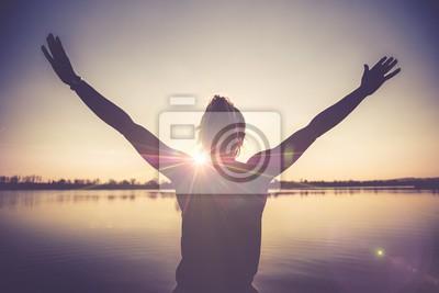 Obraz Životní štěstí a radost