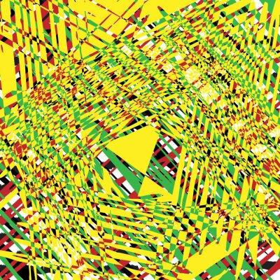 Obraz žlutá textura grunge pozadí, ilustrační designový prvek