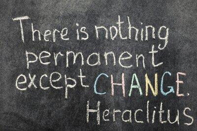 Obraz změna je trvalá