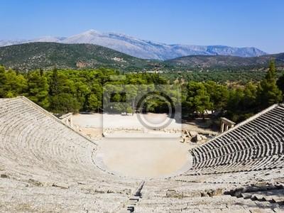 Zřícenina Epidaurus amfiteátr