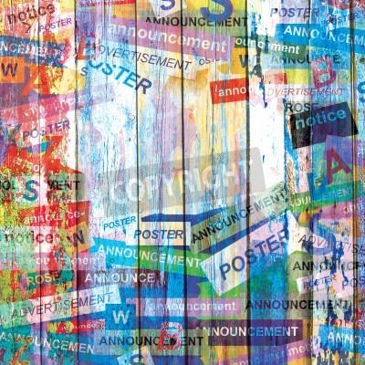 Plakát Abstract grunge pozadí