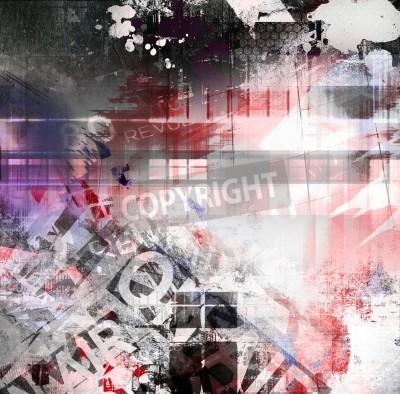 Plakát Abstract grunge textury, umění pozadí