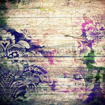 Plakát Abstraktní starý pozadí s grunge textury. Pro umělecké textury, grunge design, a vintage papír nebo hraniční rámem