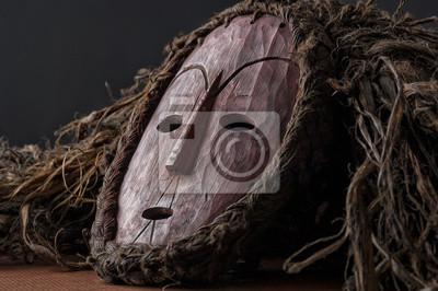 62d1262e1ed Plakát Africká dřevěná maska