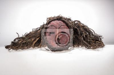 a0926f544e7 Plakát Africké dřevěné masky