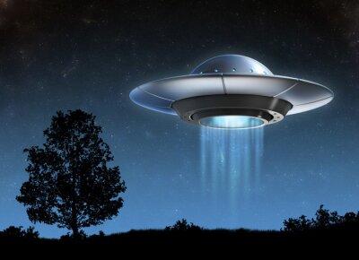 Plakát Alien kosmická loď