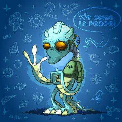 Plakát Alien prostor útočník vás vítá