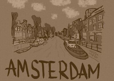 Plakát Amsterdam vinobraní