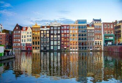 Plakát Amsterodam, Nizozemsko