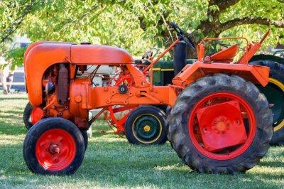 Plakát ancien tracteur