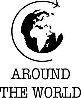 Plakát Around the World