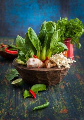 Plakát Asijské Potravinářské přísady