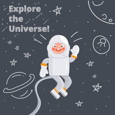 Plakát astronaut
