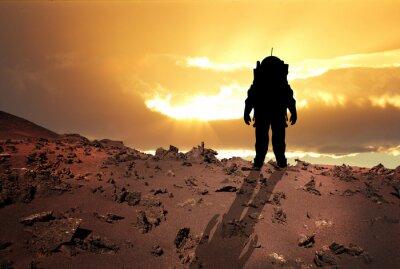 Plakát Astronaut na Mars