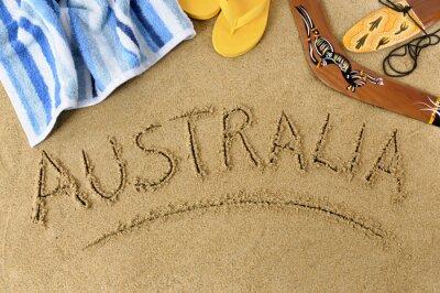 Plakát Australia beach background