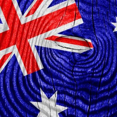 Plakát Austrálie vlajka