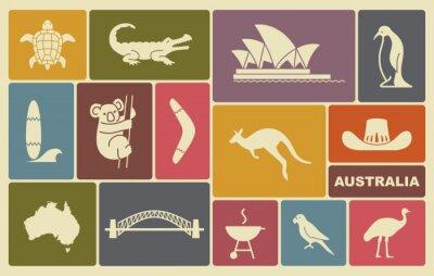 Plakát australské ikony