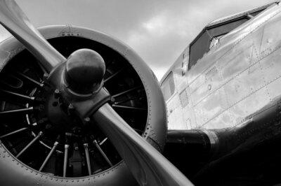 Plakát Avion Helice