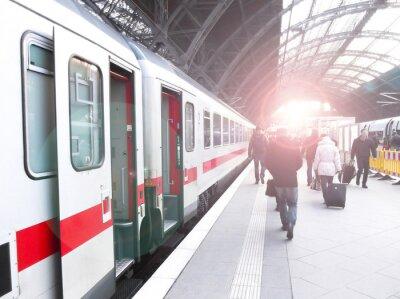 Plakát Bahnhofsverkehr