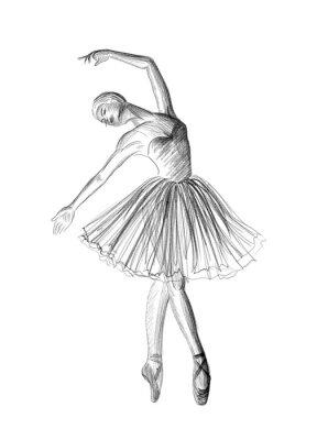 Plakát Balerína