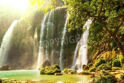 Plakát Ban Gioc - Detian waterfall in  Vietnam