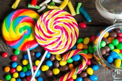Plakát Barevné candy