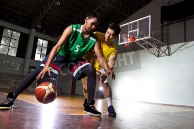 Plakát Basketbal hráč ve hře