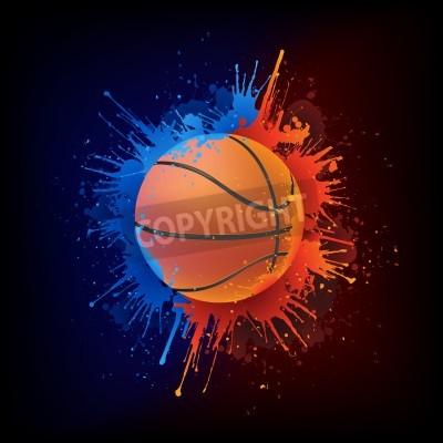 Plakát Basketball Ball