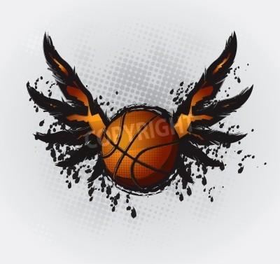 Plakát Basketball Design Element 1 Vector Drawing