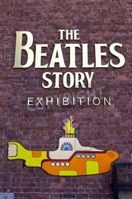 Plakát Beatles Story Výstava v Liverpoolu