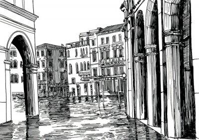 Plakát Benátkách