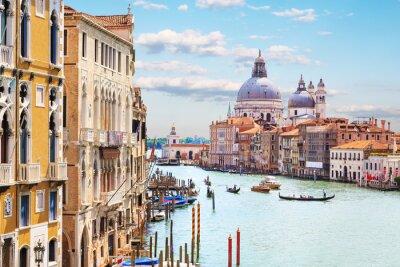 Plakát Benátky. Grand Canal