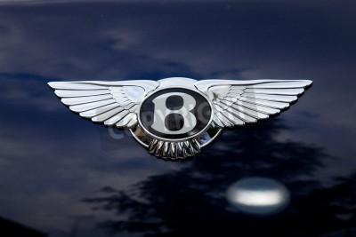 Plakát Bentley znak - mimo shoting
