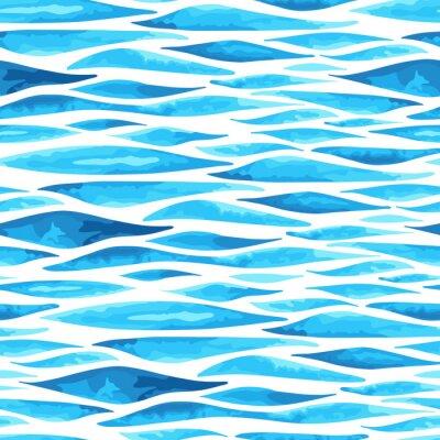Plakát Bezešvé horizontální pozadí moře