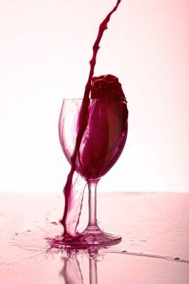 Plakát Bicchiere di Vino