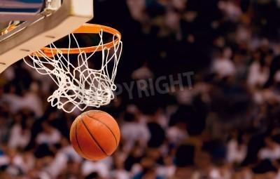 Plakát Bodování vítězné body na basketbalový zápas
