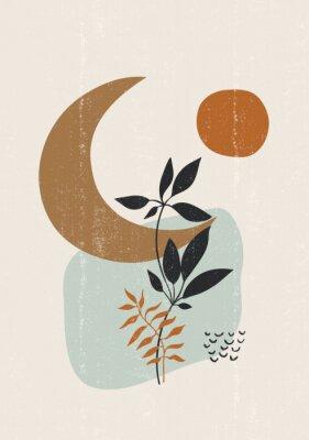 Plakát Botanical print boho minimalist printable wall art