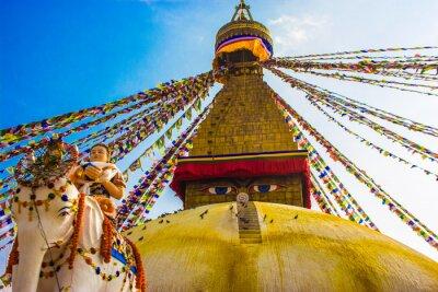 Plakát Bouddhanath Stupa, Kathmandu, Nepál