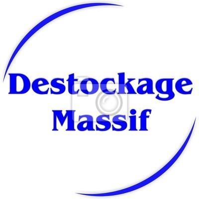 bouton DESTOCKAGE masivu