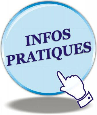 Bouton Infos Pratiques