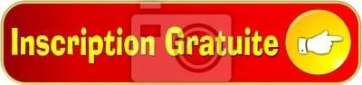 bouton nápis gratuite