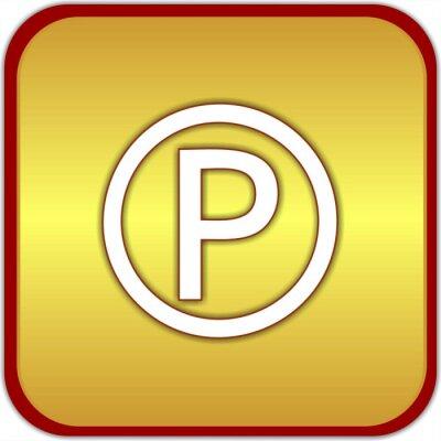 bouton parkování